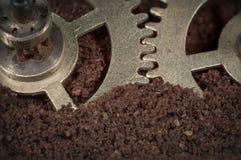 macro meccanismo di ingranaggio Fotografie Stock