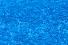 Macro melt snow blue background texture. Winter. Royalty Free Stock Photos