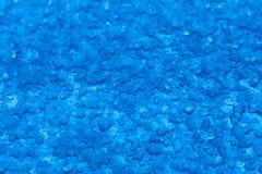 Macro melt snow blue background texture. Winter. royalty free stock photos