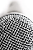 Macro microphone Royalty Free Stock Image