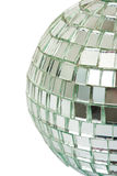 Macro of mirror ball Stock Photography