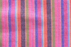 Macro modèle coloré sur les sarongs thaïlandais Photographie stock libre de droits