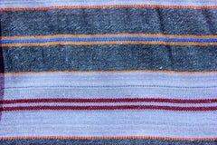 Macro modèle traditionnel classique sur les sarongs thaïlandais Photographie stock