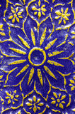 Macro modelo árabe del esmalte Imagen de archivo libre de regalías