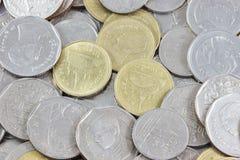 Macro monete Fotografie Stock Libere da Diritti