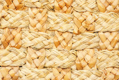 Macro natural straw texture Stock Photography
