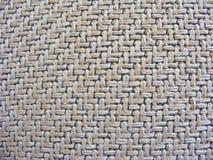 Macro of natural textured burlap sackcloth hessian texture coffee sack Royalty Free Stock Image