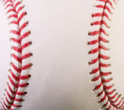 Macro New Baseball Stock Image