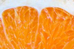 Macro of a nice  juicy orange. Royalty Free Stock Photography