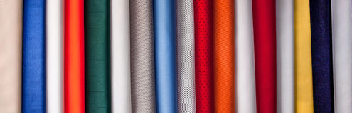 Macro Nylon Woven Micro Fiber Material Texture for Background Royalty Free Stock Images