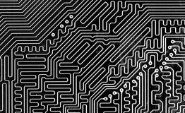 Macro Of Computer Board Stock Image