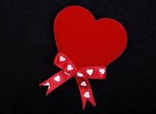 Macro Of Red Heart Stock Photo