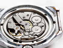 Macro of old watches Stock Image