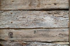 Macro old wooden boards Stock Photography