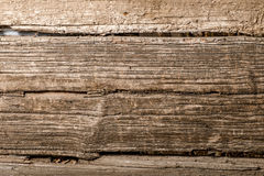 Macro of the old wooden plank background Stock Image