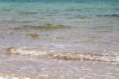 Macro onda del mar Morto in Israele Immagini Stock Libere da Diritti