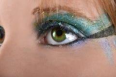 Macro oog Stock Foto's