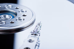 Hard disk head Royalty Free Stock Image