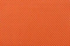 Macro Orange Fabric Stock Photography