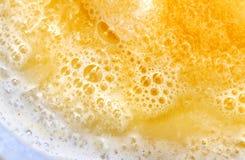 Macro Orange Juice Royalty Free Stock Photo