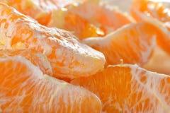 Macro of orange slice Stock Photo