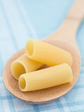 Macro pâtes crues Photo libre de droits