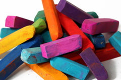 Macro of pastel sticks Stock Photography