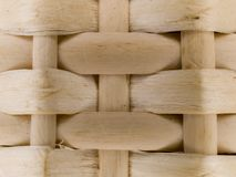Macro pattern - bamboo basket Stock Photo