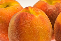 Macro peaches Royalty Free Stock Photos
