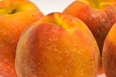 Macro peaches Royalty Free Stock Photos