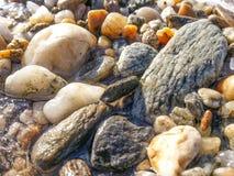 Macro pebbles Stock Images
