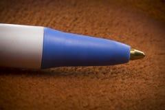 Macro penna a sfera Immagine Stock