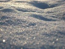 Macro photo avec des glaçons d'une neige de fond de texture d'hiver Image stock