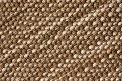 Macro photo of carpet pattern. Close-up of natural textile Royalty Free Stock Photo