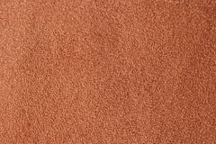 Brown cloth texture Royalty Free Stock Photography