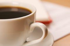 Macro photo of a coffee cup Stock Photos