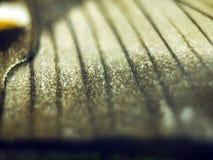 Macro photo d'une aile de papillon Photos stock