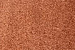 Texture de tissu de Brown Photographie stock libre de droits