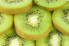 Macro photo of a fresh kiwi Stock Photo