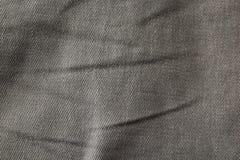 Macro photo of gray material.  royalty free stock photo