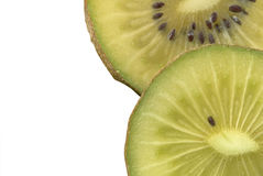 Macro photo of a kiwi Royalty Free Stock Photography