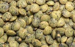 Macro photo of lentils Stock Photo