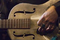 Steel Guitar Stock Image