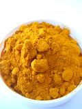 Macro Photograph of Turmeric Powder Royalty Free Stock Image