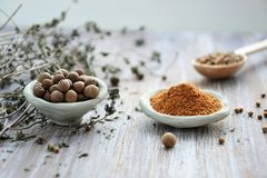 Macro Photography of Pepper Powder Royalty Free Stock Photo