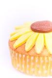 Macro picture of cupcake Stock Photo