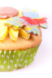 Macro picture of cupcake Royalty Free Stock Photo