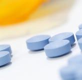 Macro Pills Royalty Free Stock Photo