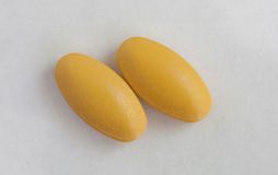 Macro pilules Photo stock