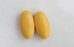 Macro pilules Photographie stock